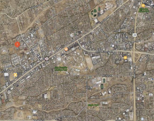 Santa Fe Self Storage - Agua Fria Location Map
